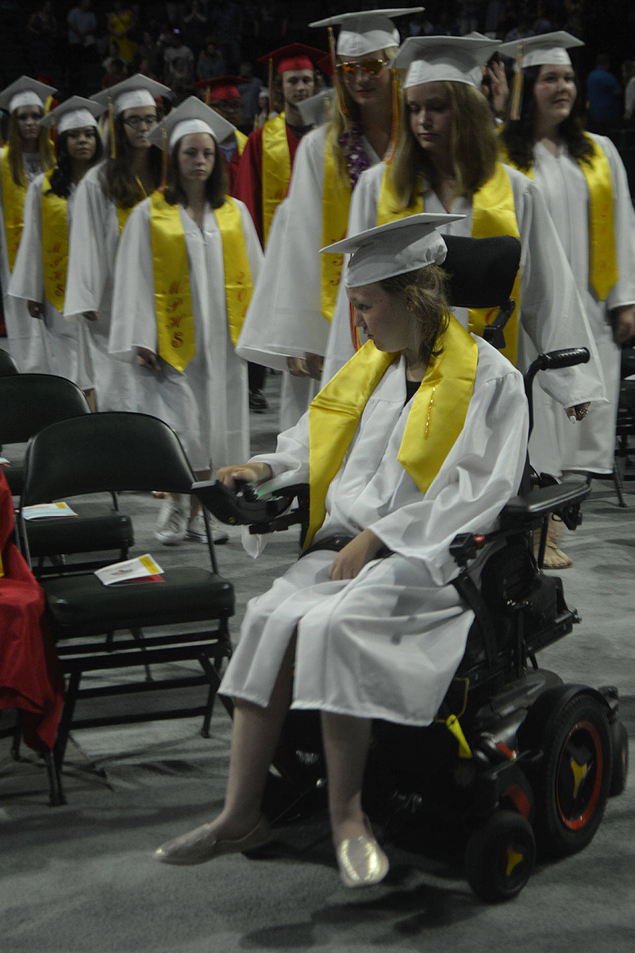 Fight song a highlight of M-P graduation